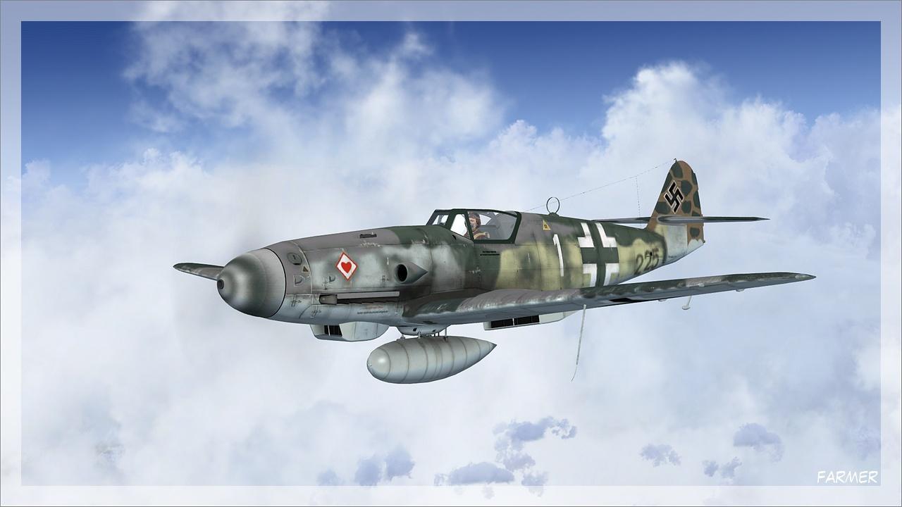 Me 109 K 4 07