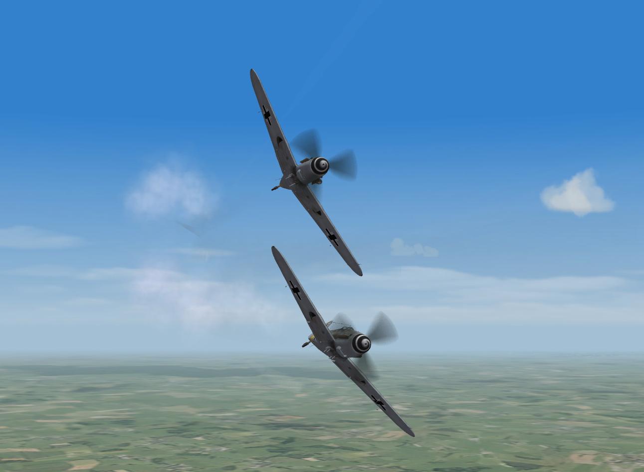 Bf109g 6 Pair