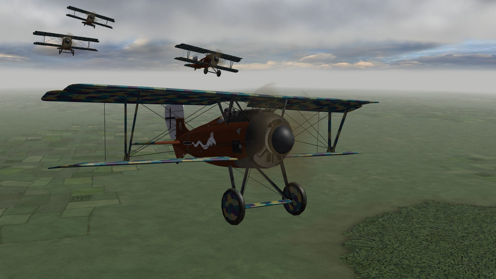 First Eagles 2 - 'It's not the Pfalz or the Fokker scout, it's the Siemens Schuckert we worry about'