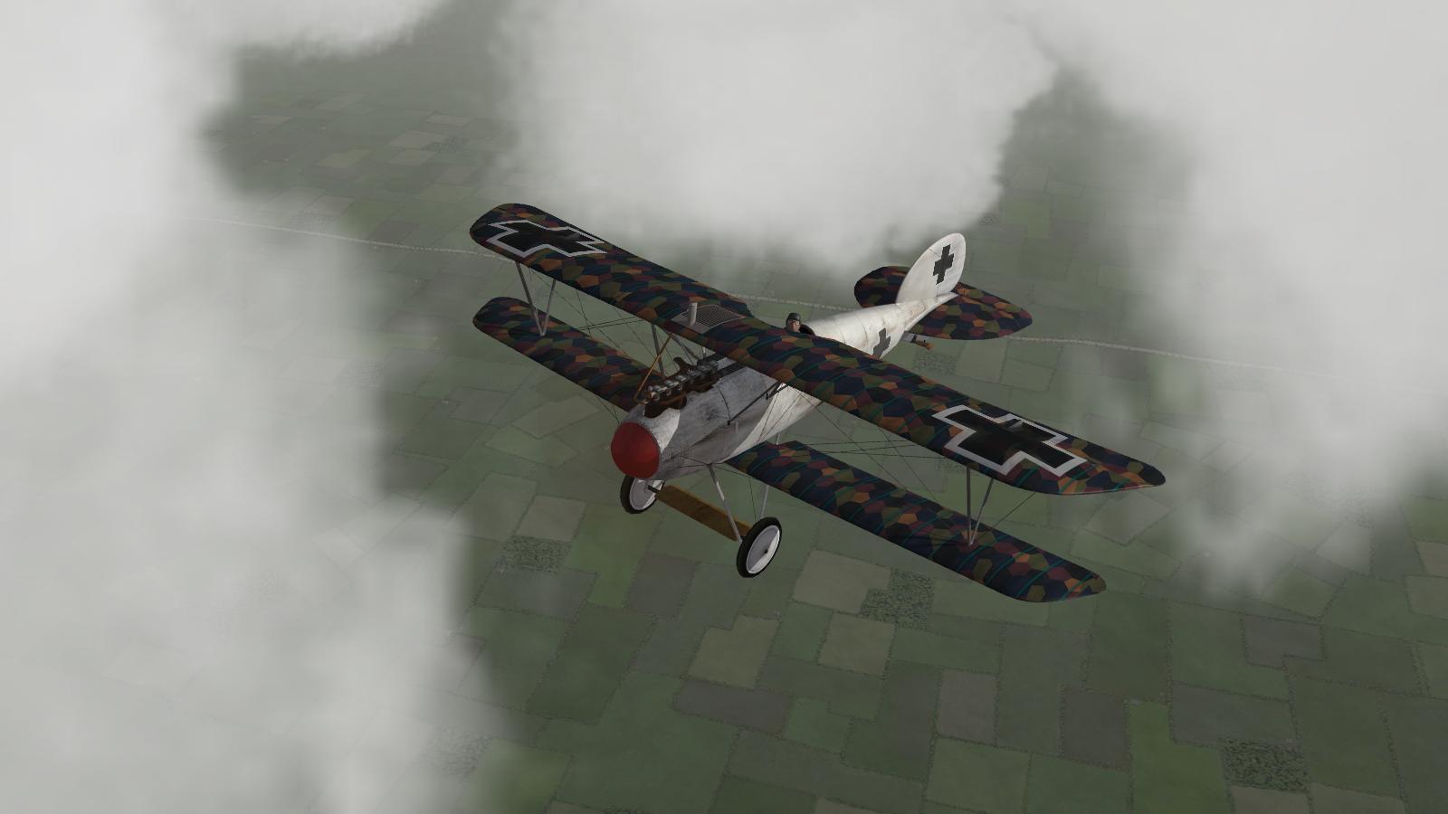 Jasta 34b Albatros DV # 5, First Eagles