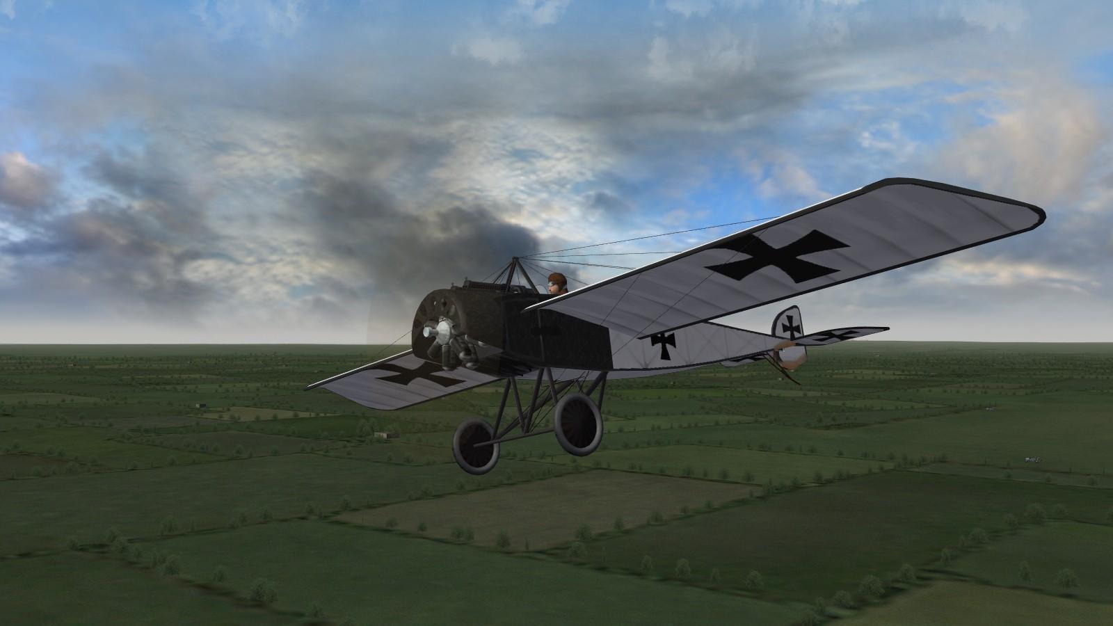 First Eagles 2 - Pfalz Eindekker, the 'flying death card'