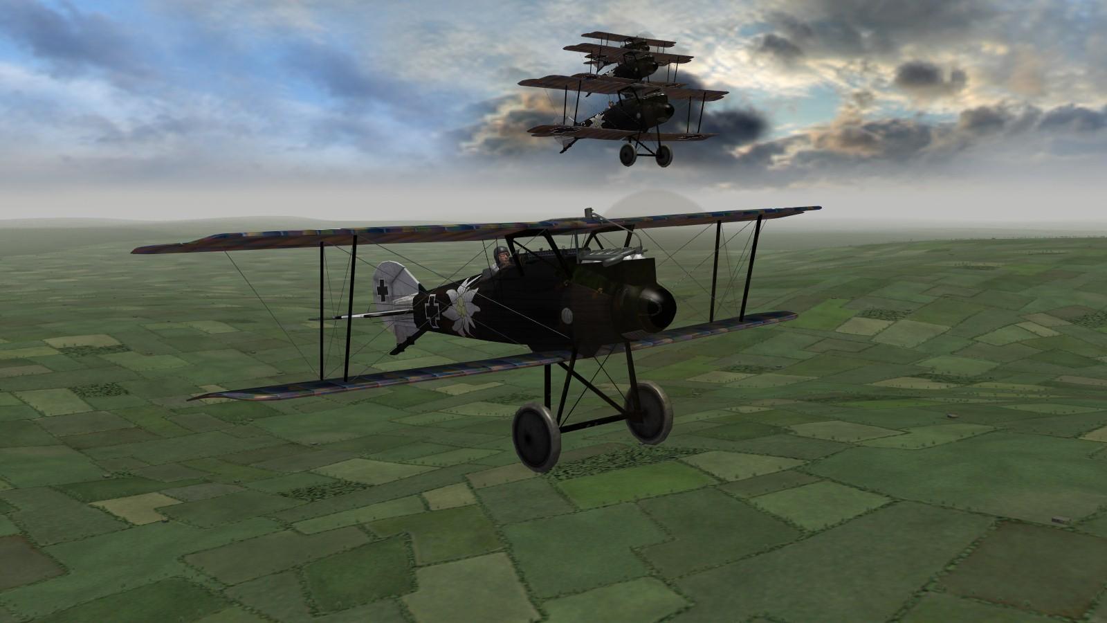 First Eagles 2 - Rolands en route
