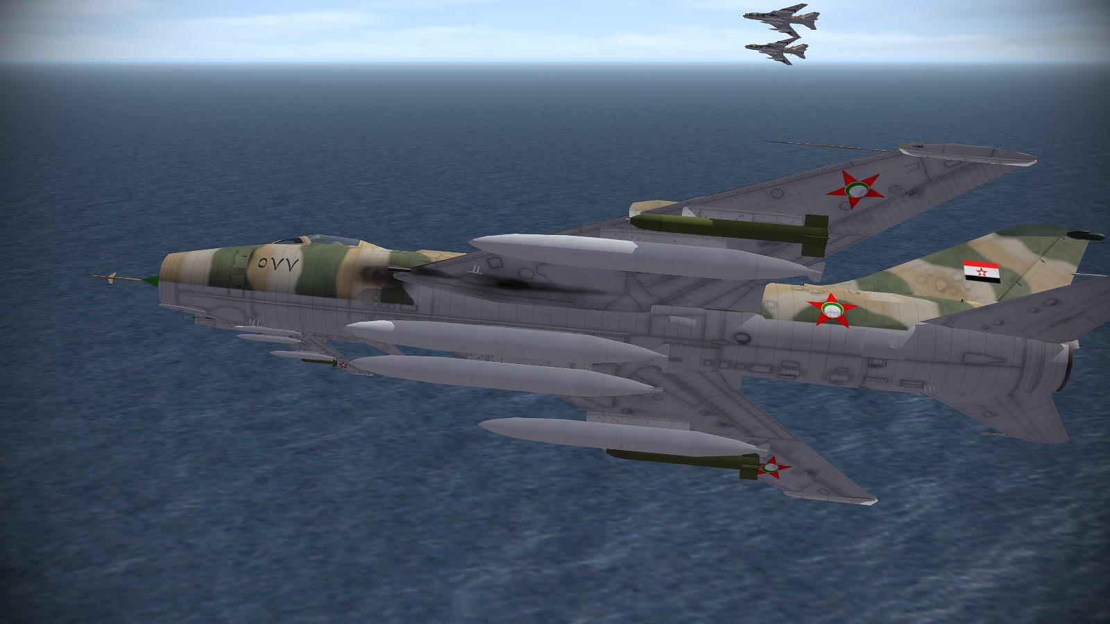 Su-7BMK Fitter-A Paran 2