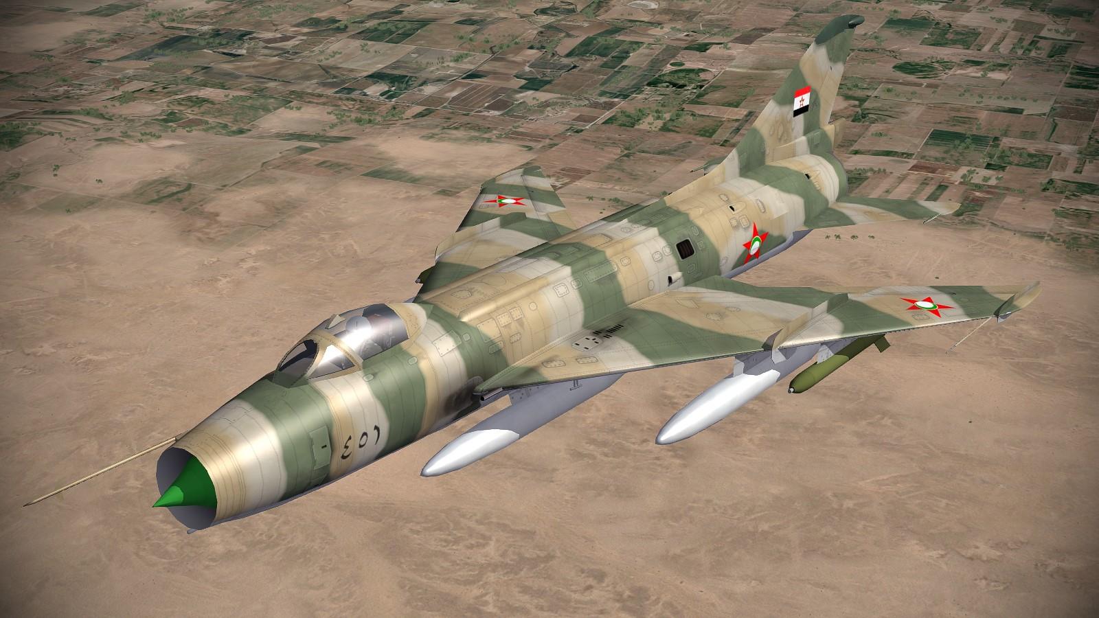 Su-7BMK Fitter-A Paran 1