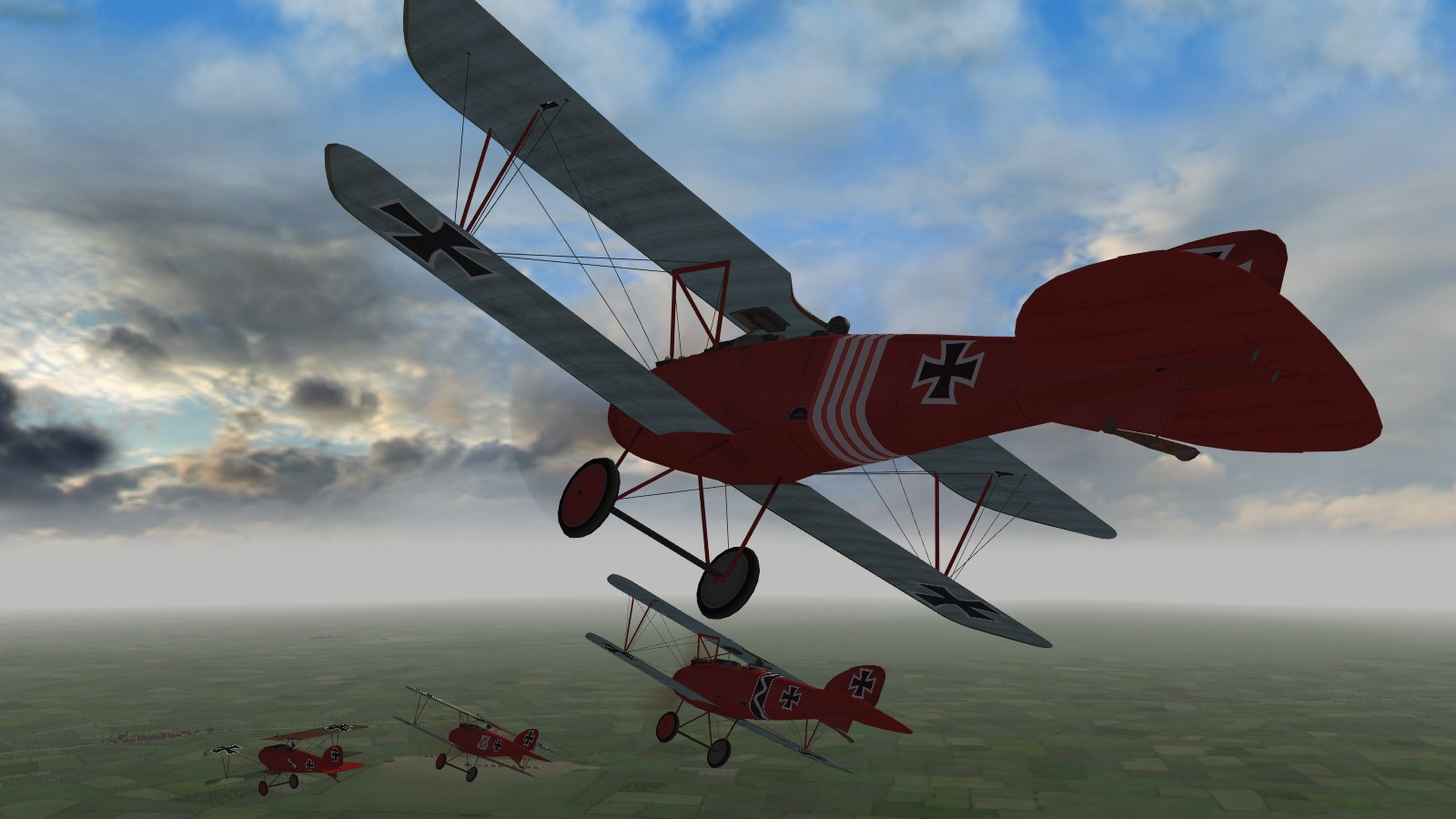 First Eagles 2, Armchair Aces campaign, Jasta 11, March 1917 - back at Brayelles