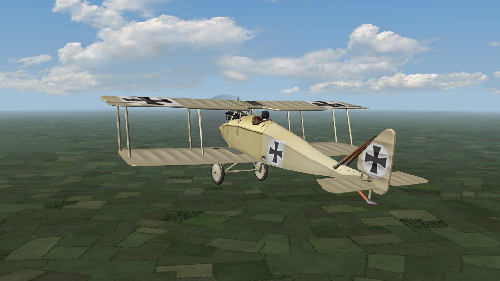 First Eagles 2 - 'Heavy-handed Hans flies Halberstadts...'