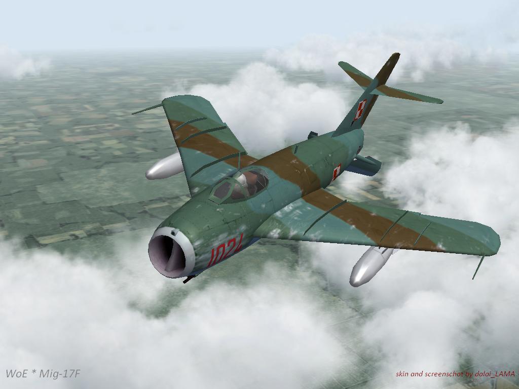 Mig 17F Polish camo historical