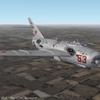 Mig-17PF damaged