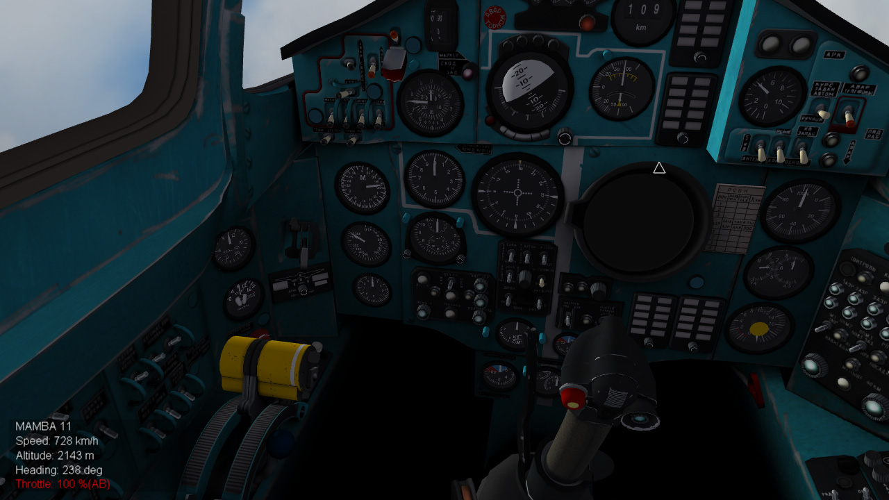 WIP] MiG-25PD cockpit - Page 6 - Thirdwire: Strike Fighters