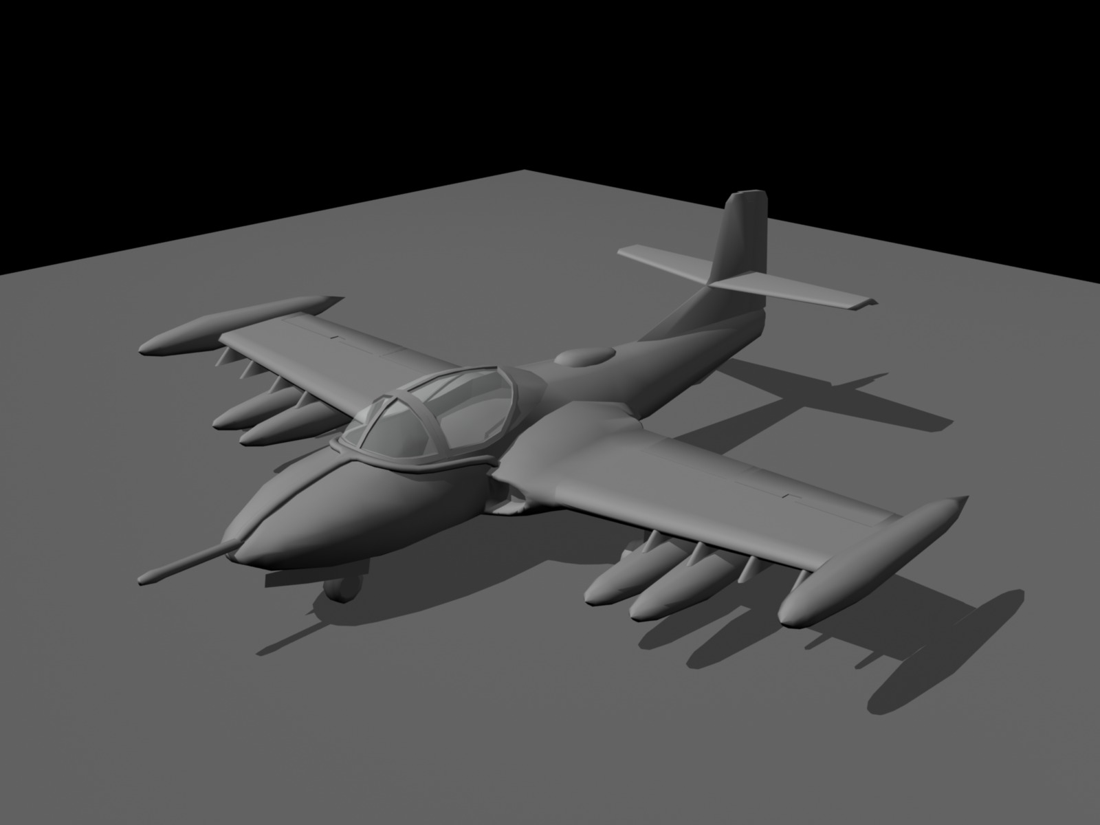 A-37 Dragonfly (Ancient work-in-progress)