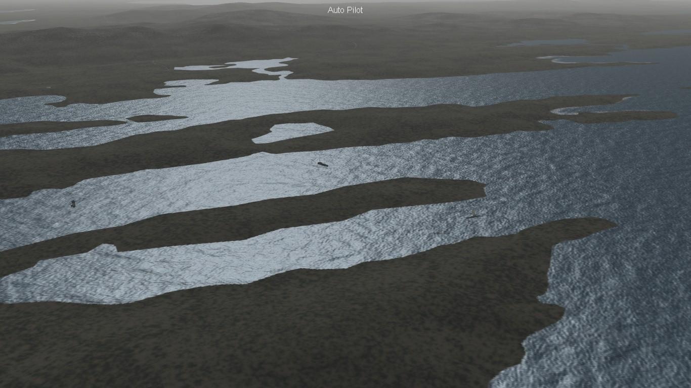 South Atlantic Terrain: Fitz Roy/Buff Cove.
