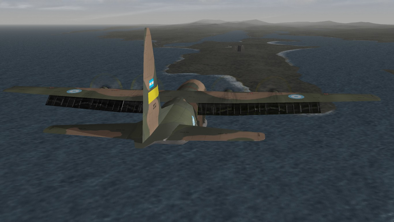 South Atlantic Terrain: Hercules landing.