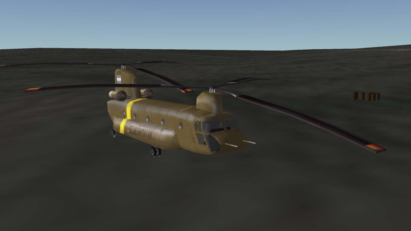 Argentine Army Chinook