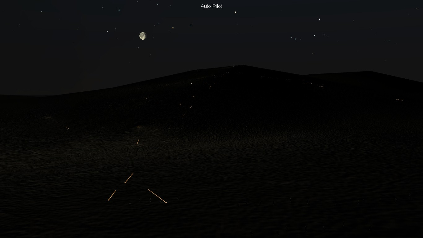 South Atlantic Terrain: night battle.