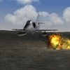 South Atlantic Terrain: A-4B strike on british base.