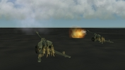 155mm cannons