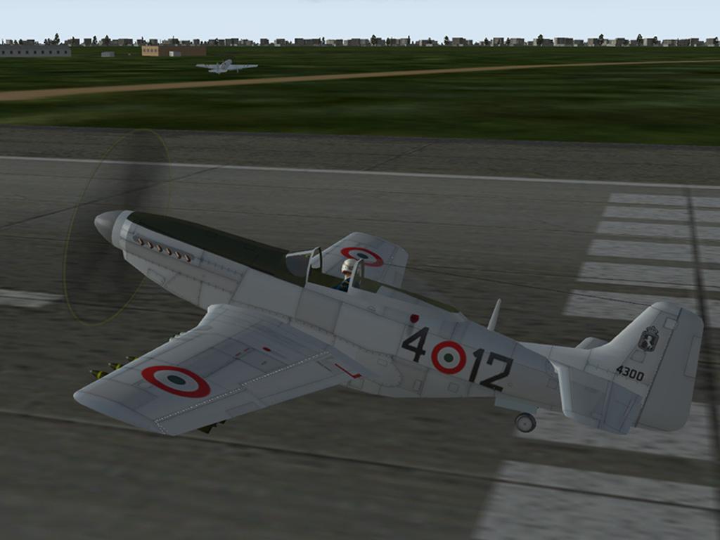 F 51D 4º Stormo Baracca 1952