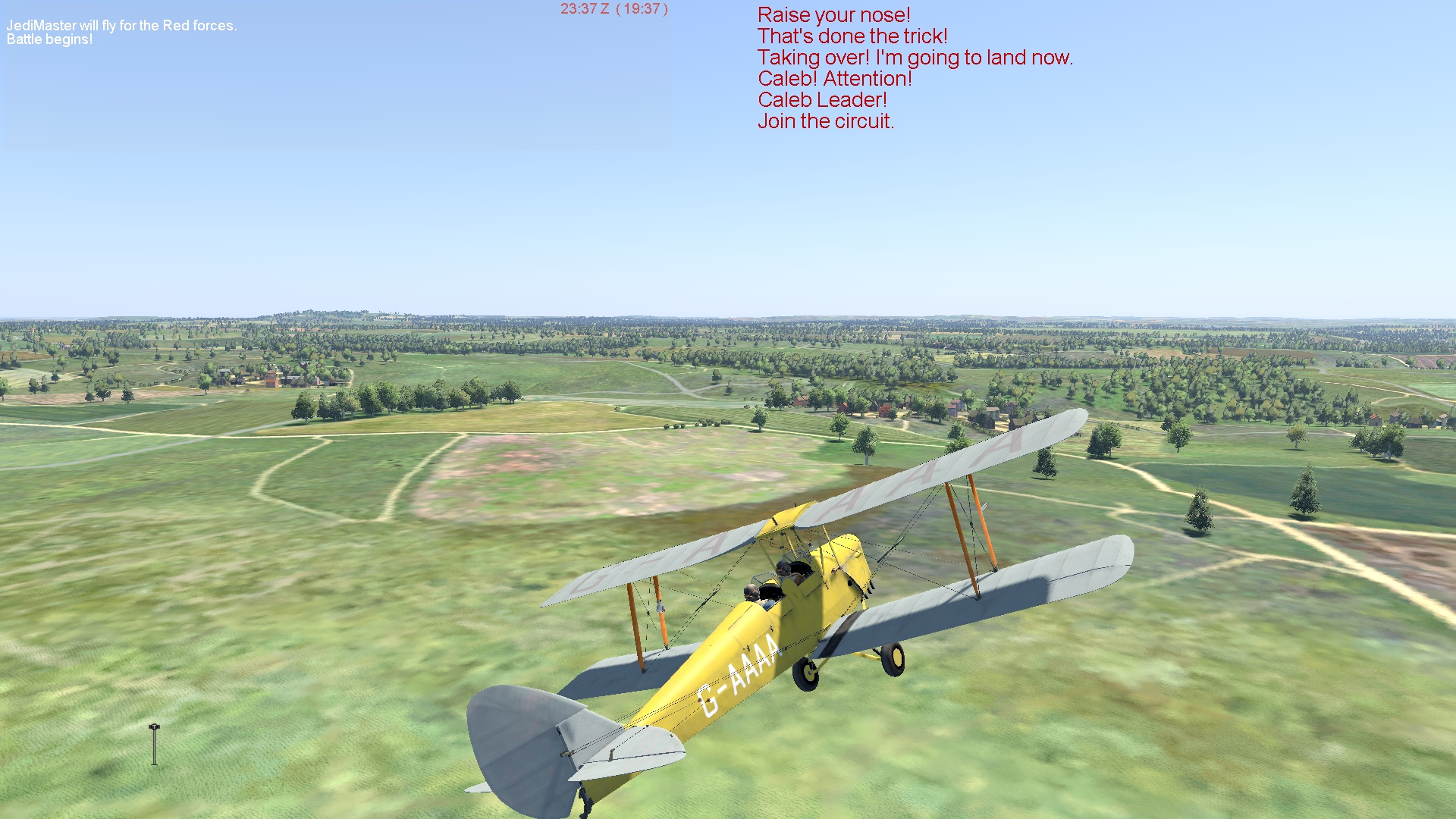 COD Tiger Moth TO training