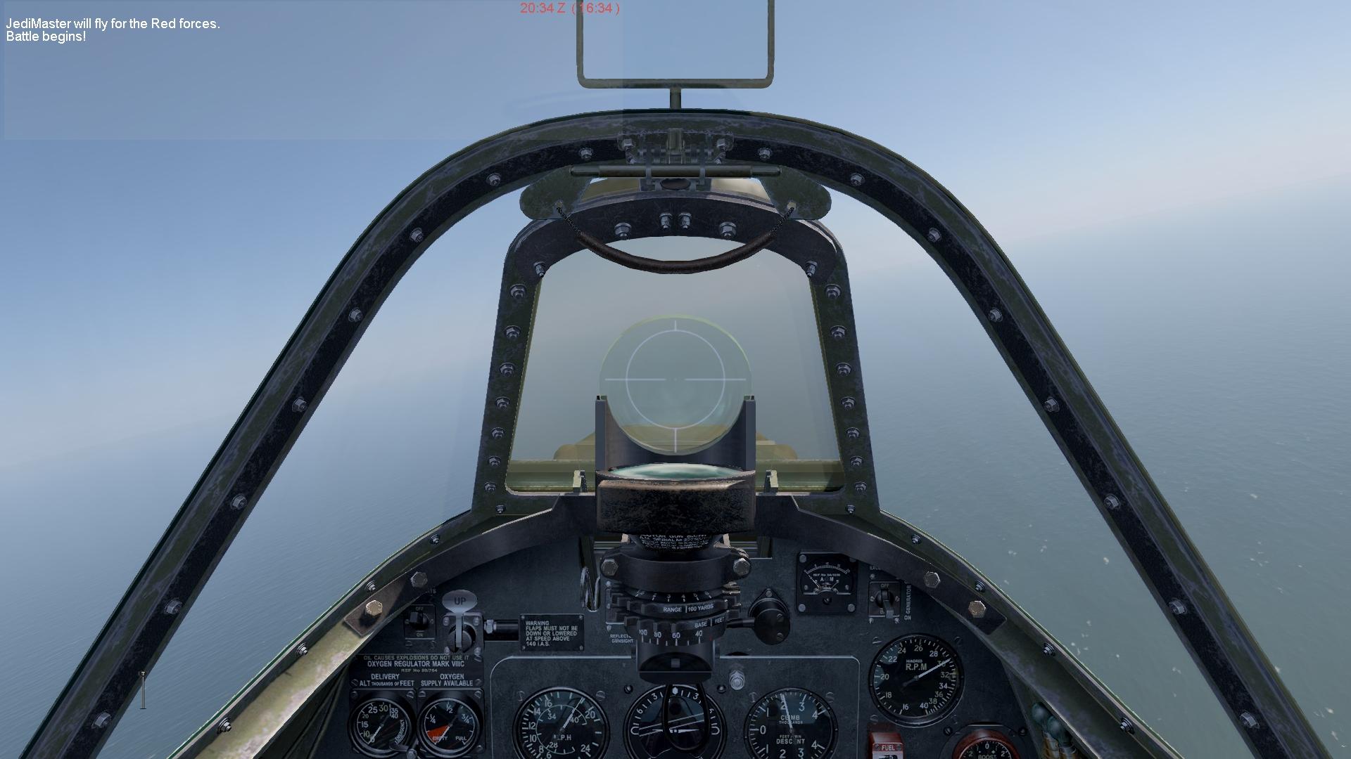 COD Spit cockpit