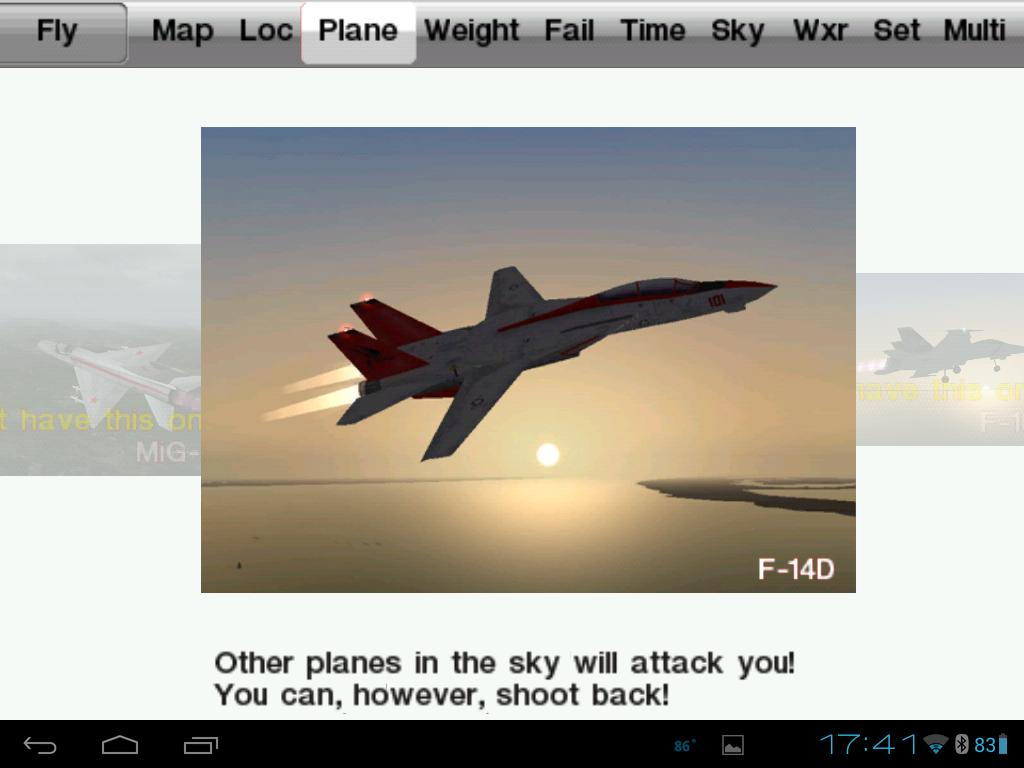 Plane Screen