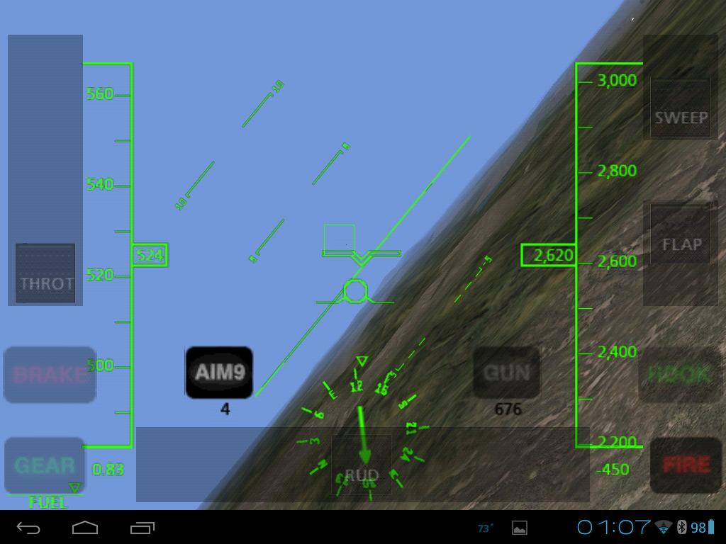 F 14 Hud View Targeting