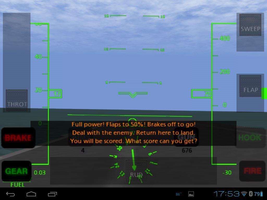 F 14 Hud Carrier Takeoff