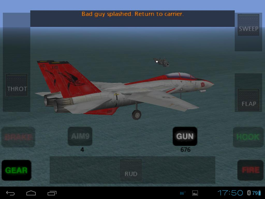 F 14 Base Leg