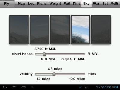 Clouds Screen