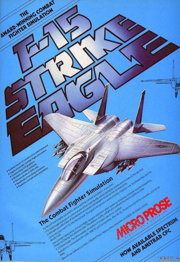 F 15 Strike Eagle By MicroProse