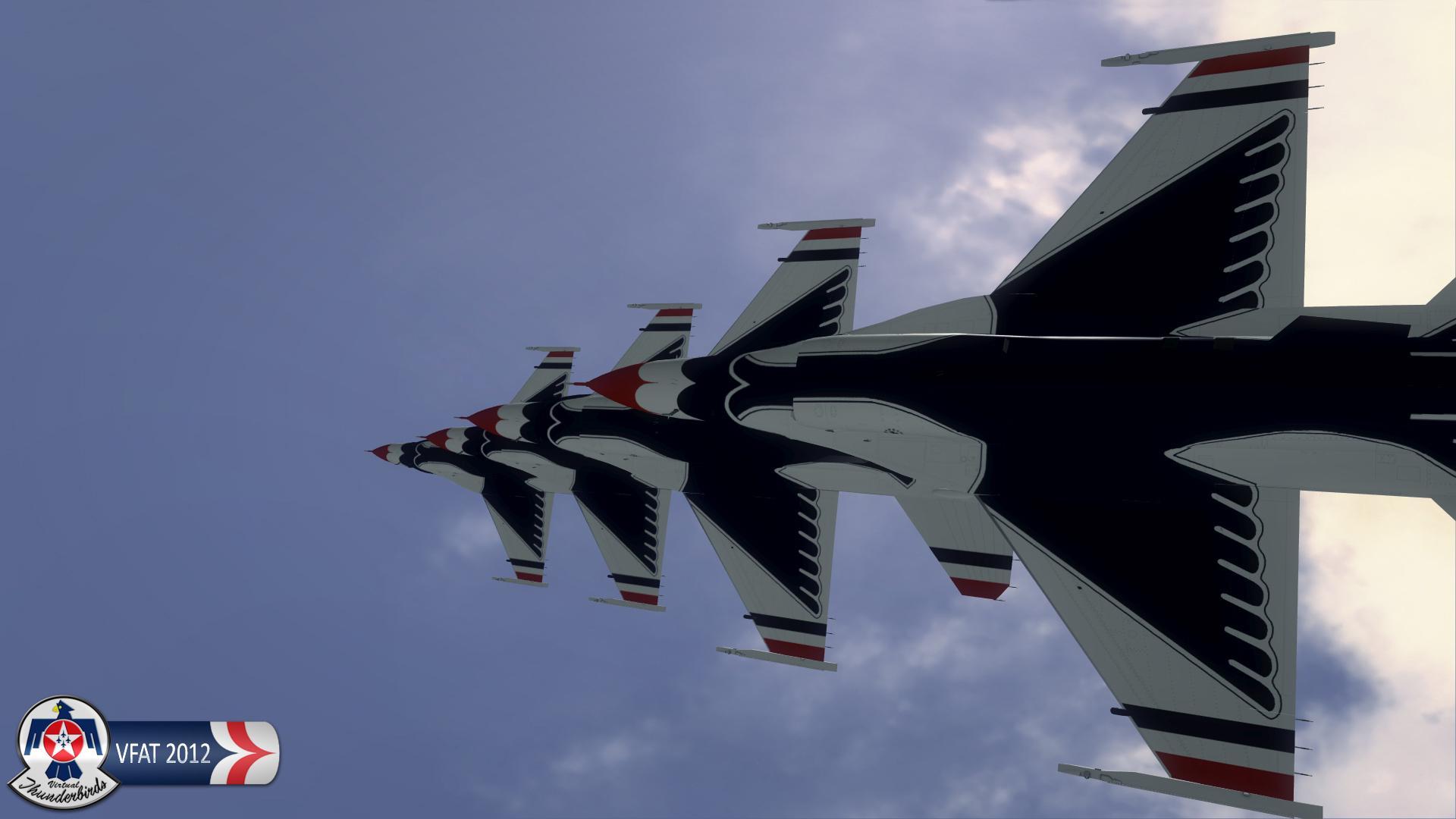 Virtual Thunderbird Screenshot of VFAT 2012