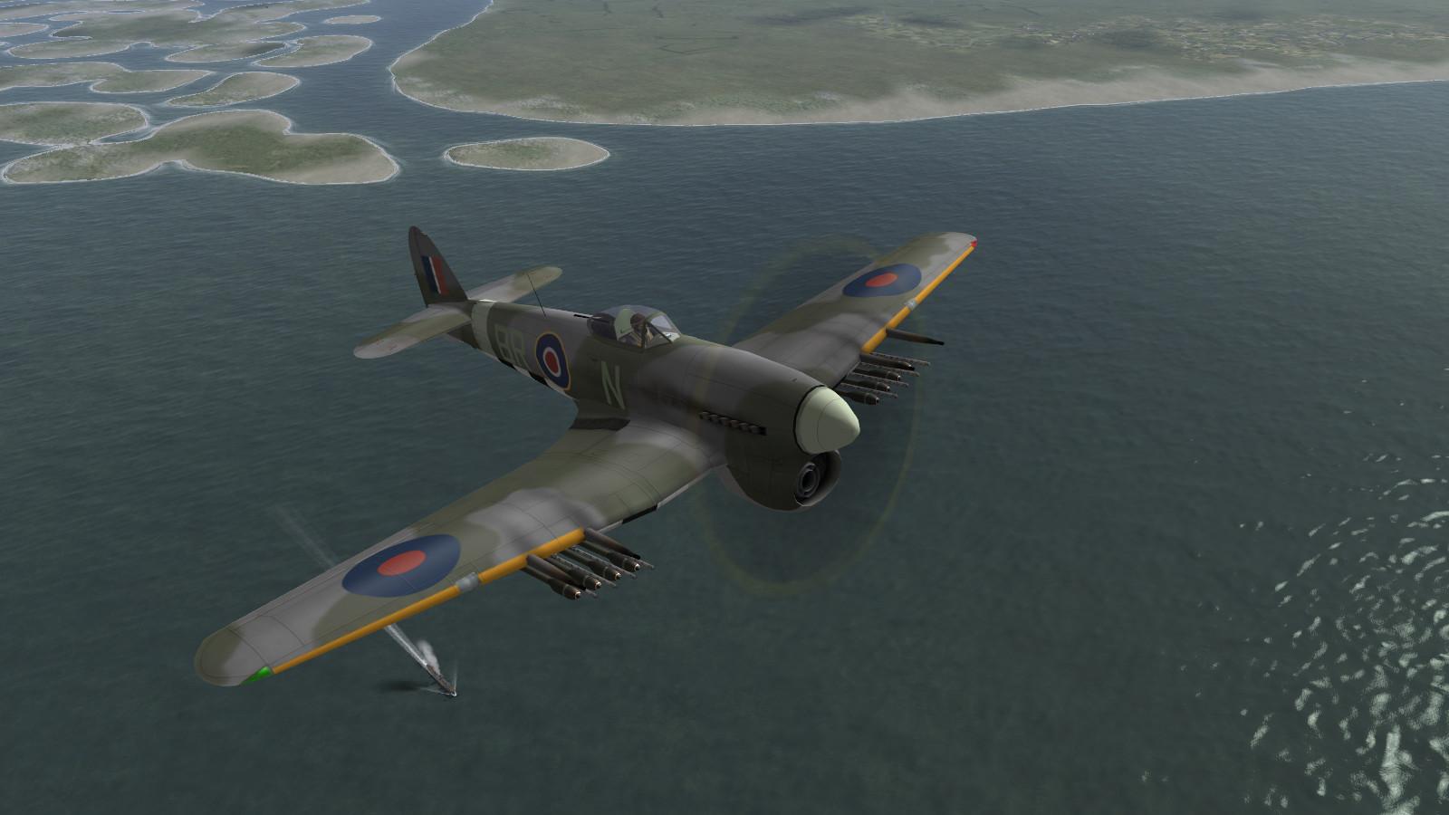 Il-2 1946+DBW - Typhoon