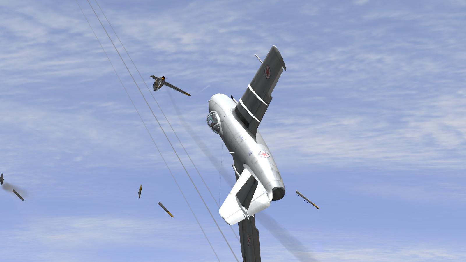 IL-2 + Dark Blue World - Mig -v- Sabre