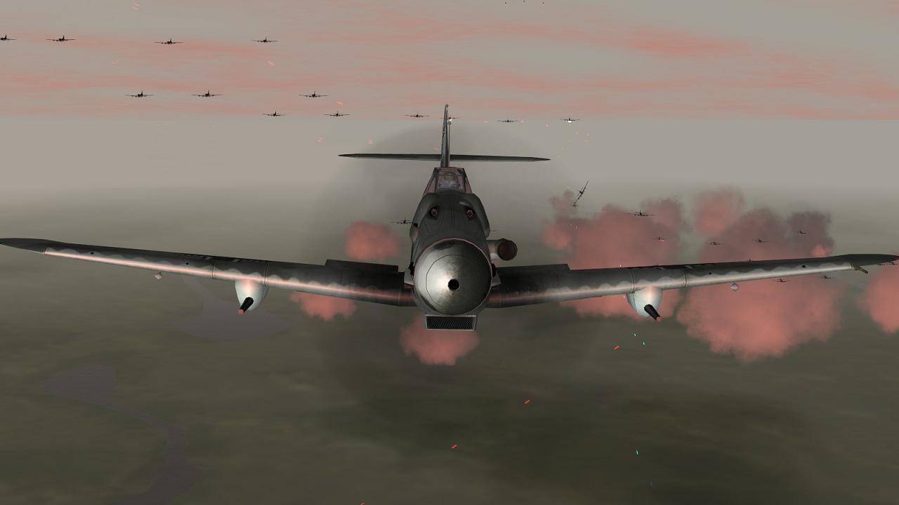 IL-2 + Dark blue world Bf109G6R6
