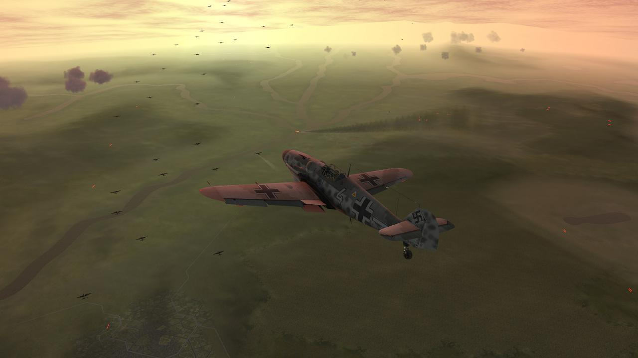 IL-2 + Dark Blue World, scene from Boelcke's Defence of the Reich campaign