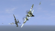 IL-2 + Dark Blue World, scene from Poltava's Reaping the Whirlwind campaign