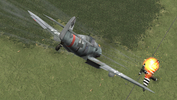 109G6, Heinz Knoke, JG11, -vs-Thunderbolt, IL-2+Dark Blue World quick combat