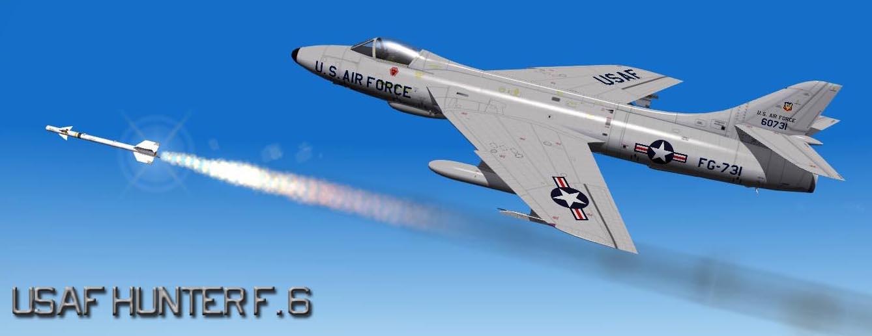 USAF Hunter F.6