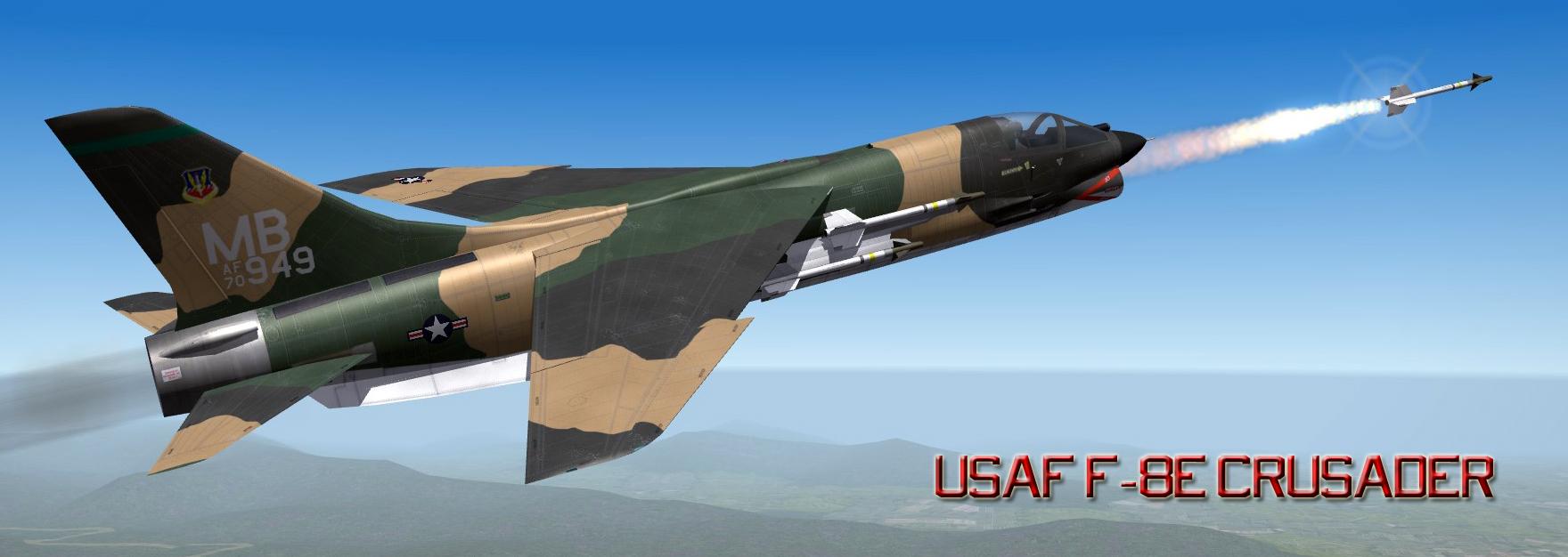 USAF F 8E 1