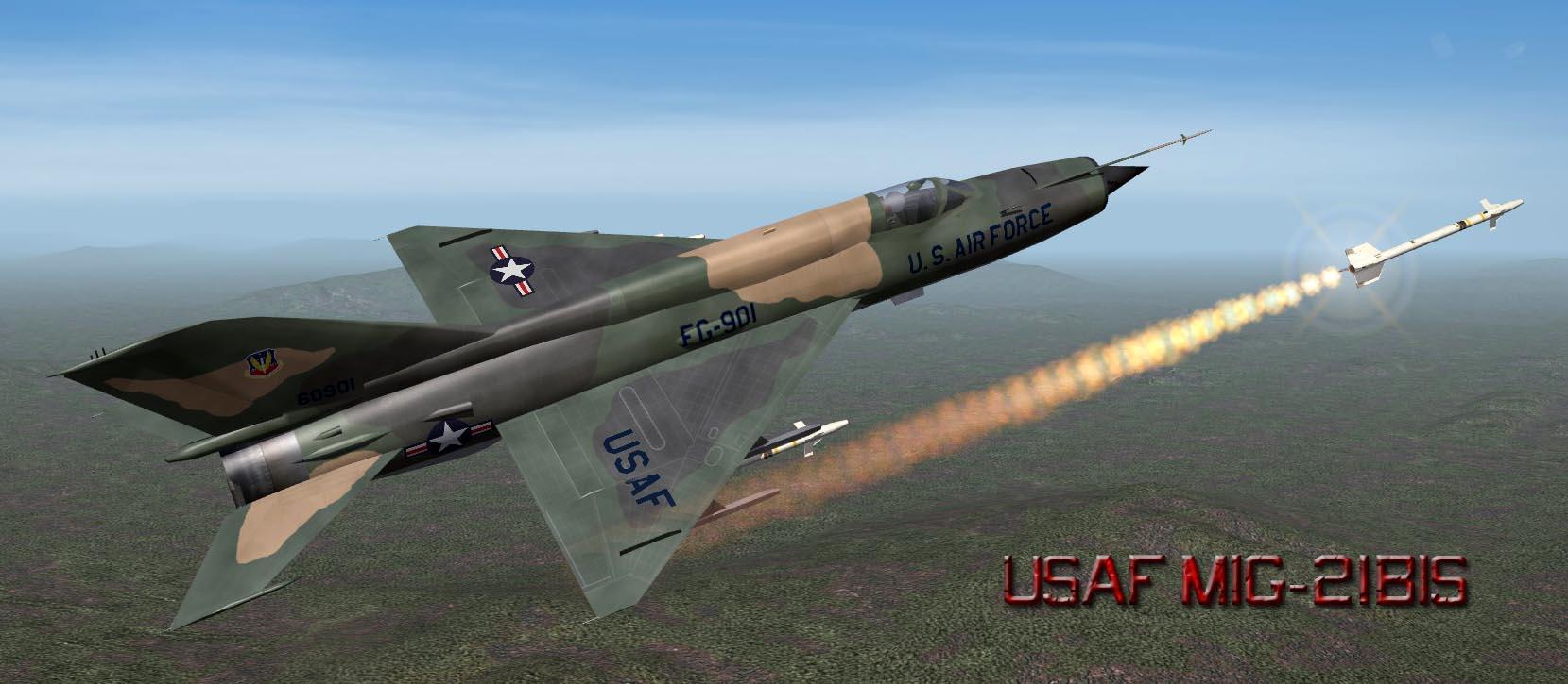 USAF MiG 21 SEA