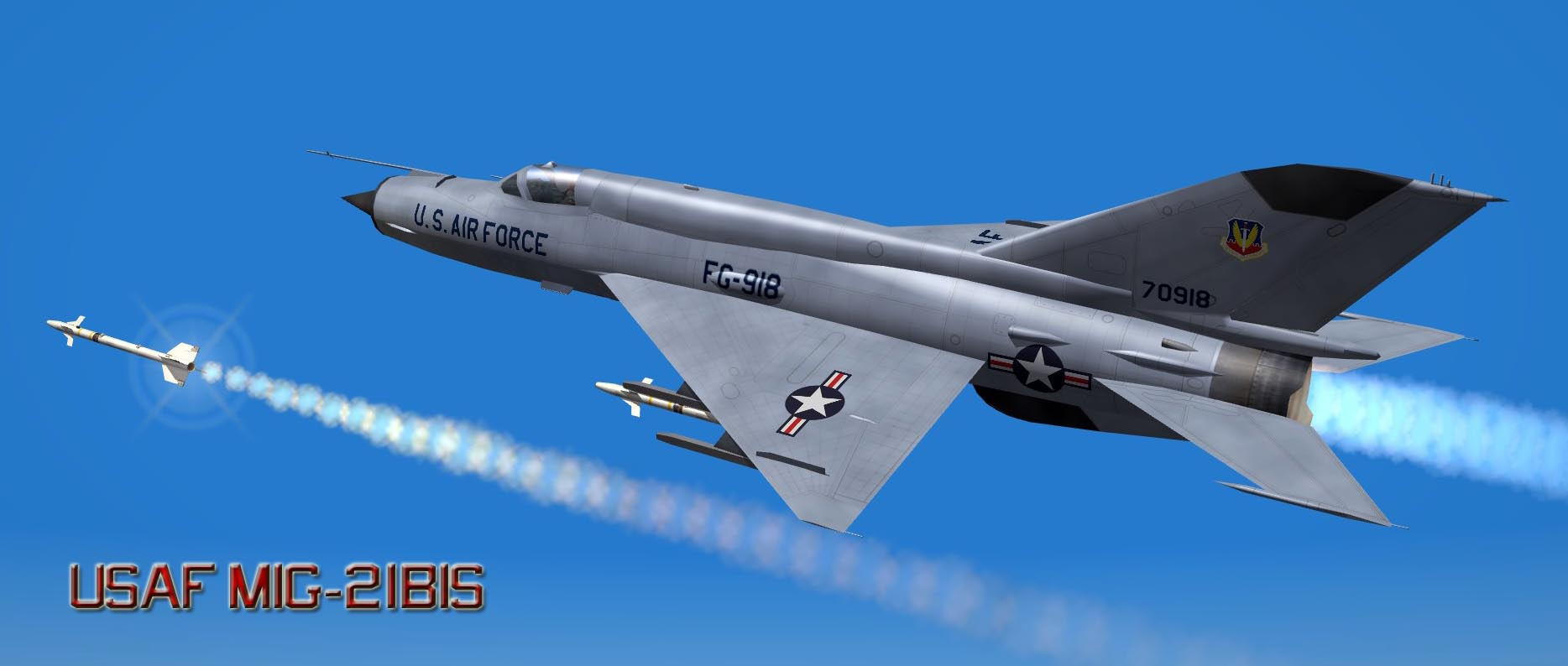 USAF MiG 21 1