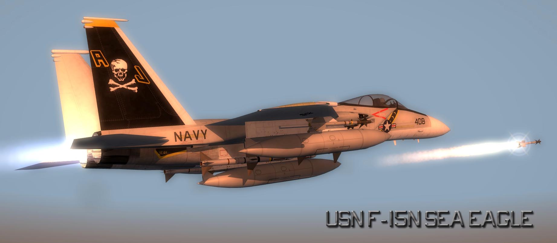 USN F 15N 4