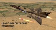 USAF F 106A Desert