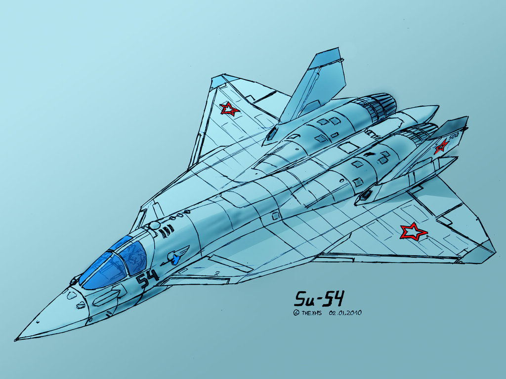 sukhoi Su 54 By thexhs d36a415