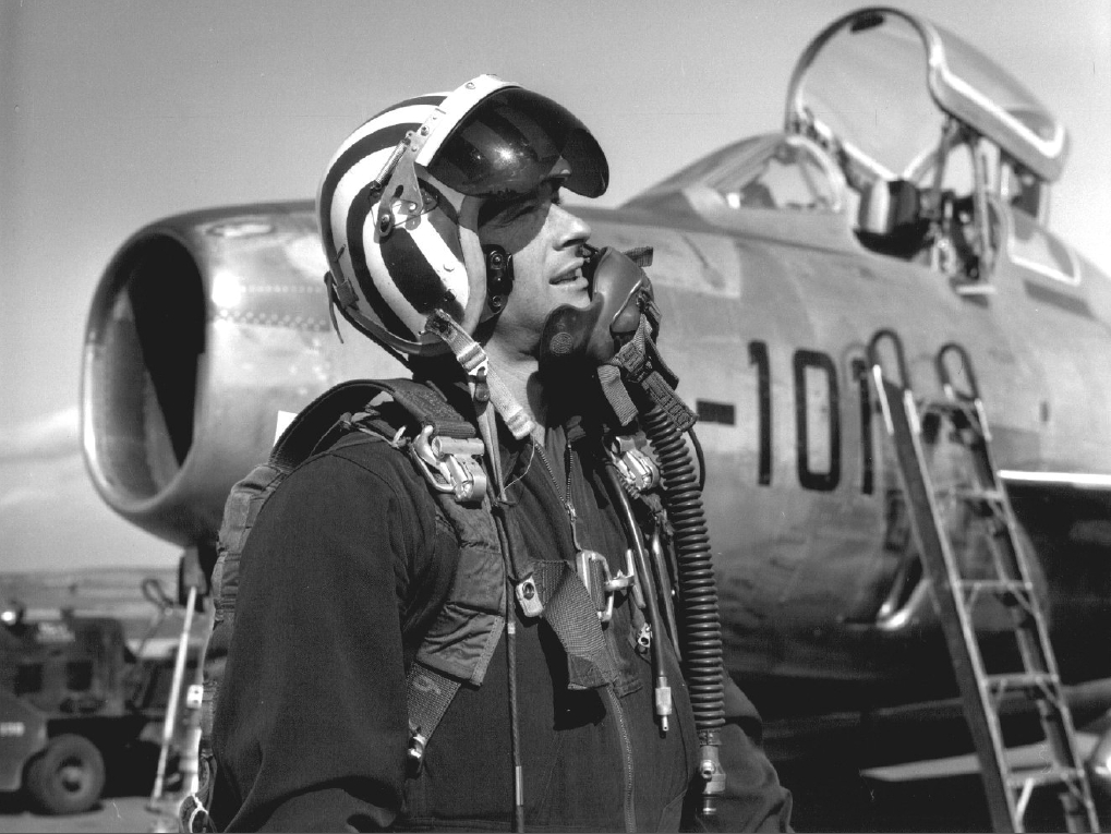 German pilot with F 84F In 1960