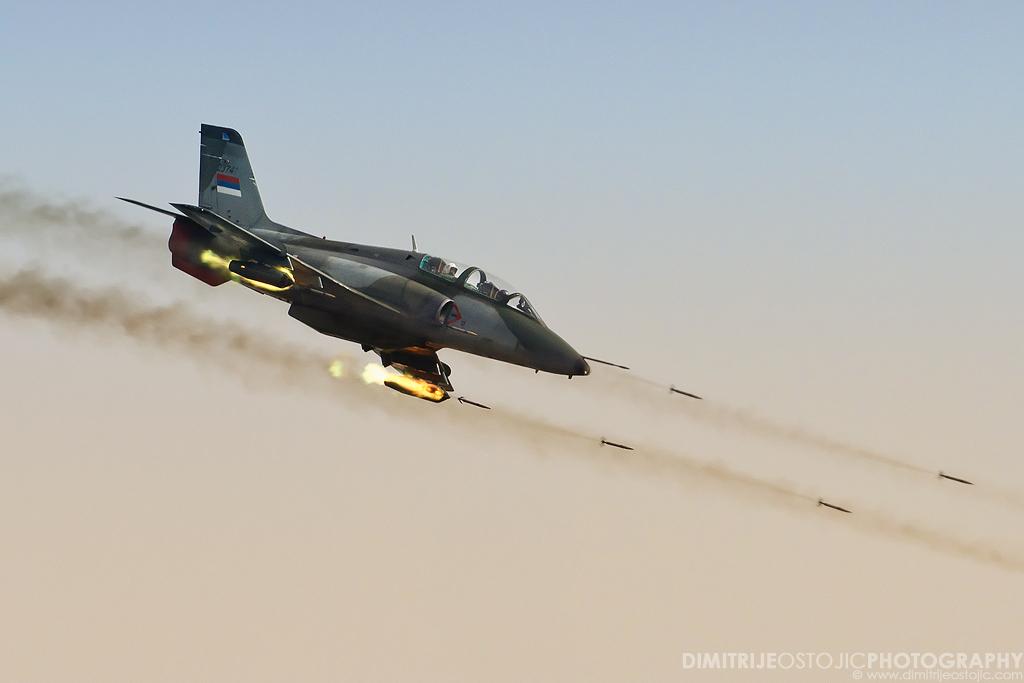 SAF G-4 rocket attack