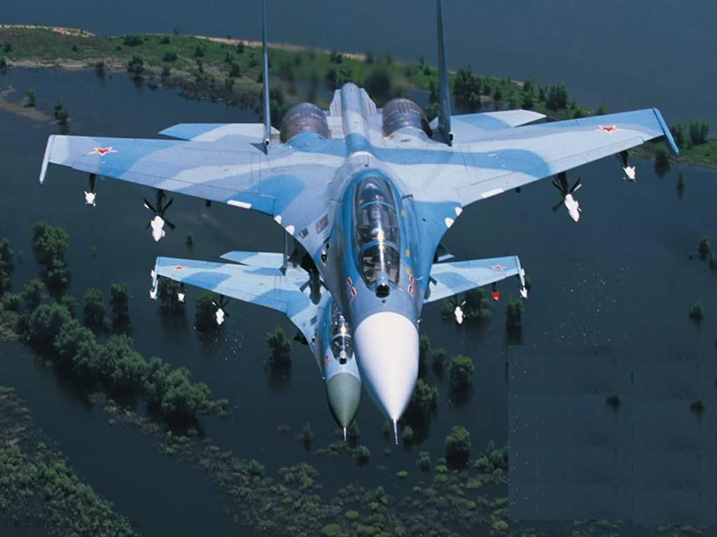 Su 30 Mk2 of the Russian Air Force