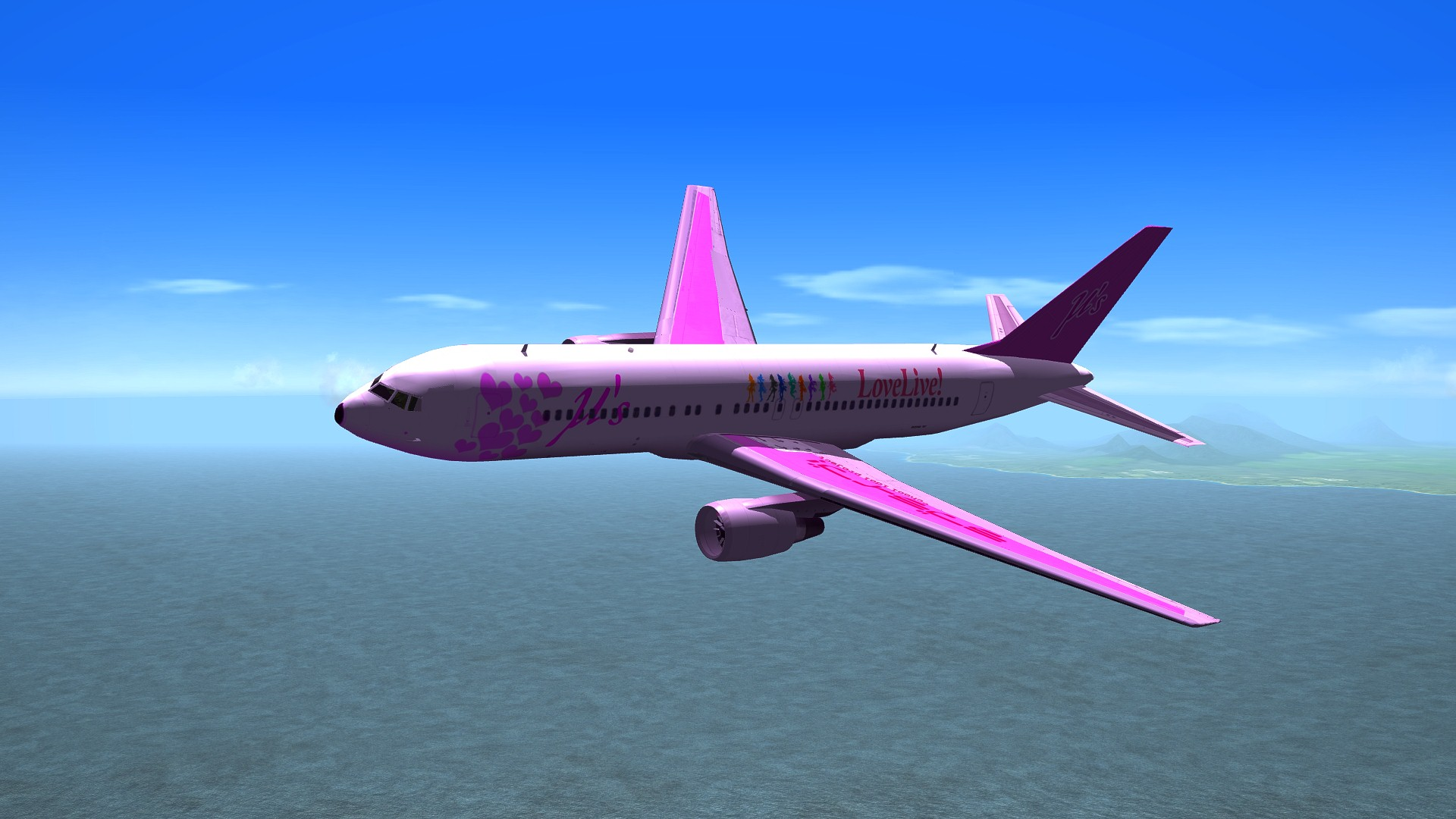 Love Live ?'s Boeing 767
