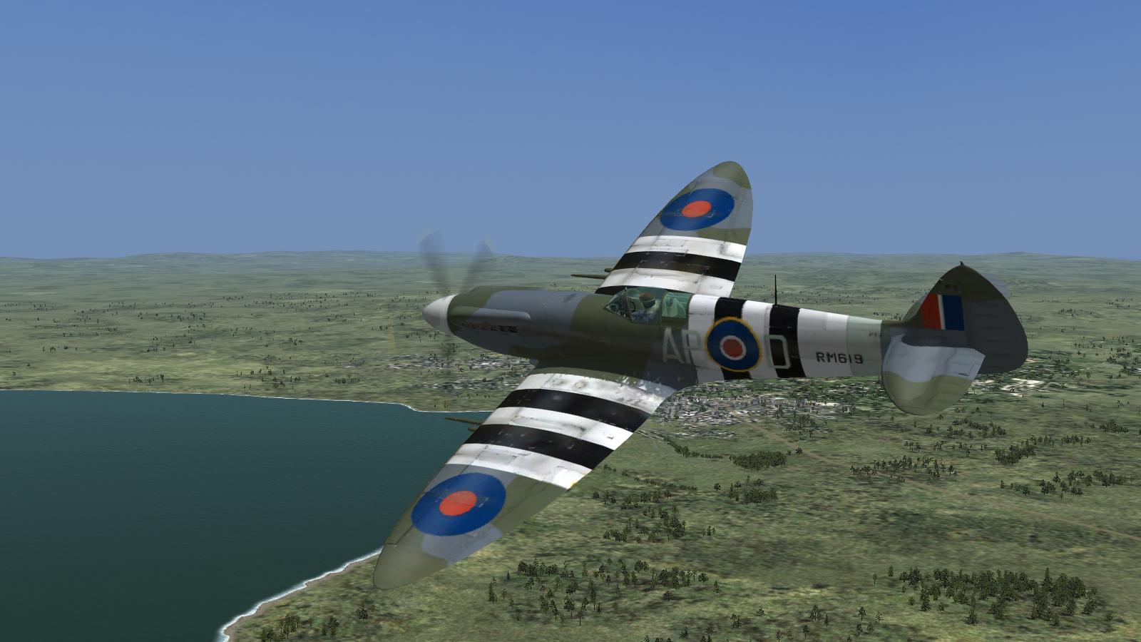 CFS3+ETO Expansion+DX9 mod - Spitfire XIV