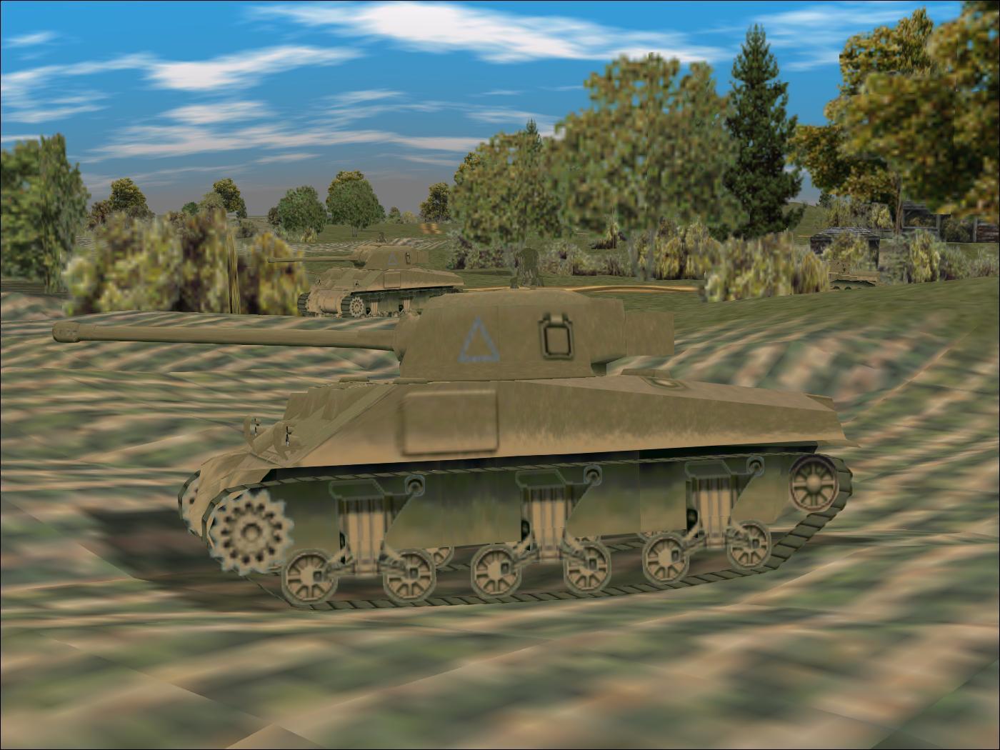 Panzer Elite Brit44-x beta - Sherman Fireflies, Normandy