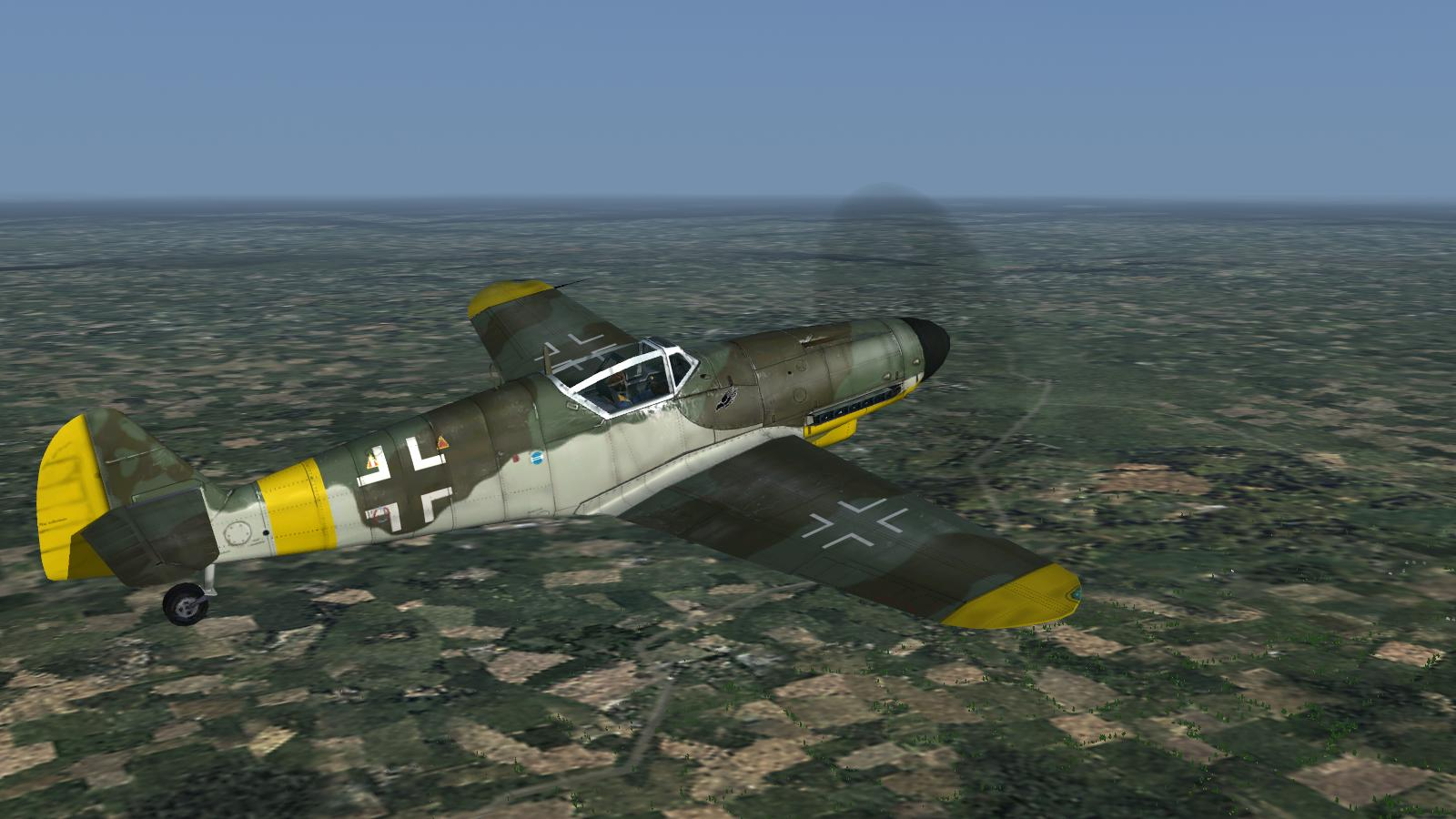 CFS3+DX9 mod - stock Bf109G-10